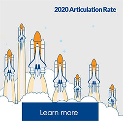 2020 Articulation Rate 88.8%, Learn more