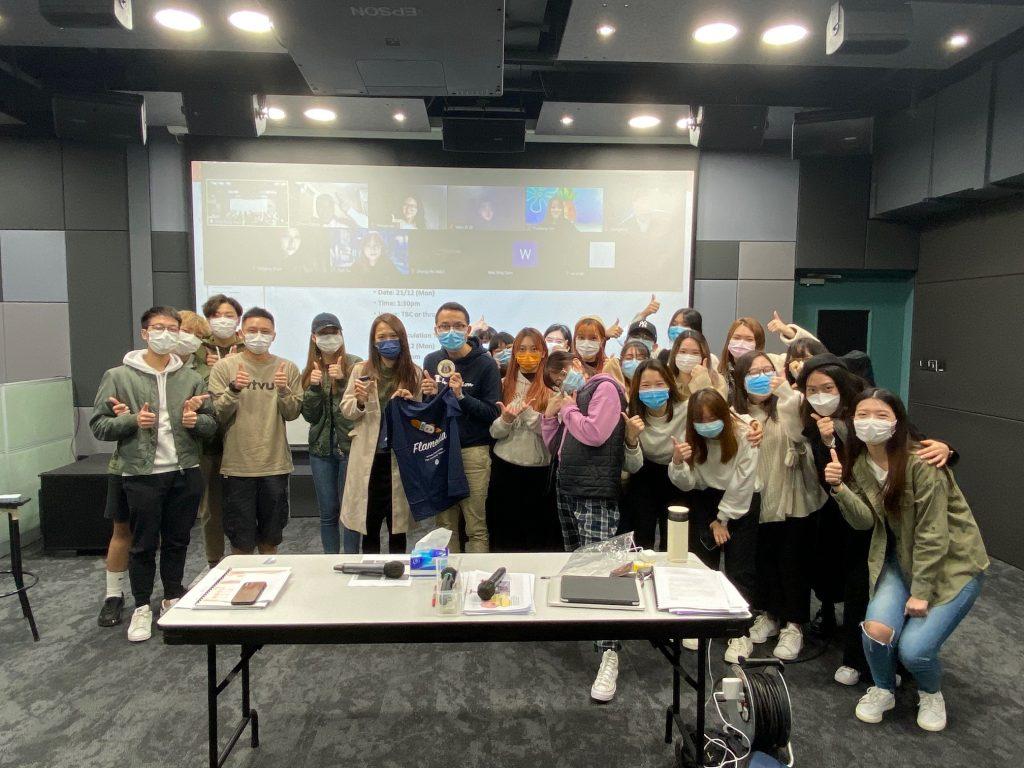 媒體傳播課程 (Media Communication) 與香港青年藝術協會 (Hong Kong Youth Arts Foundation, HKYAF) 合作,協助策劃「城市閘誌」社區藝術計劃的網絡宣傳方案。